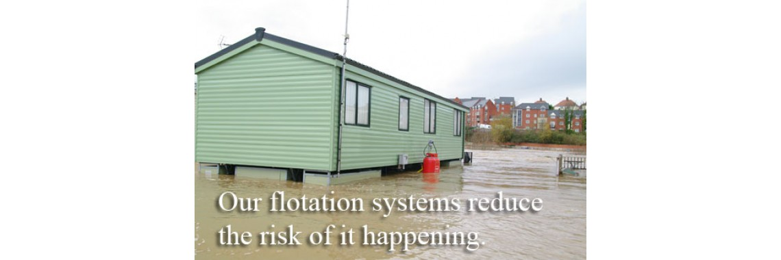 With flotation